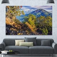 Designart Merbabu Volcano In Java Extra Large Landscape Canvas Art Print