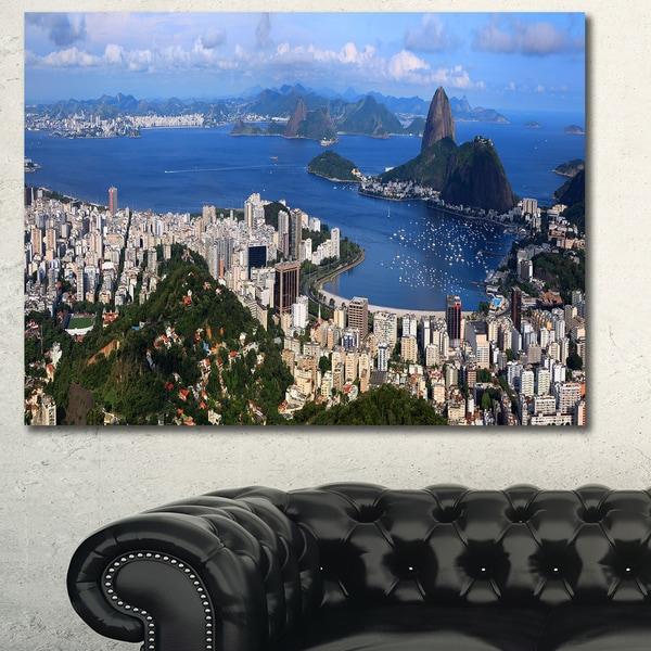 Design Canvas Art Print X27Rio De Janeiro Panoramax27 Extra