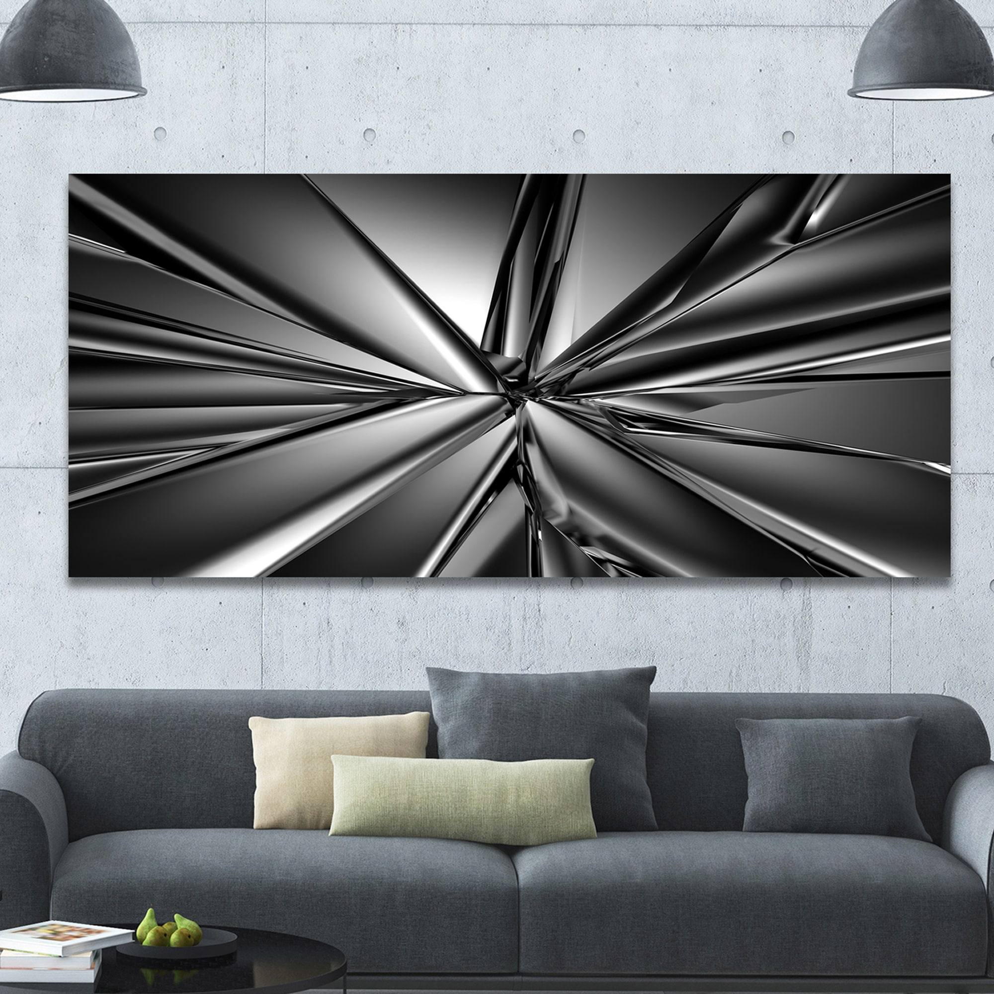 Extra Large Abstract Canvas Art