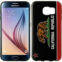 California Black TPU IMD Case for Samsung Galaxy S6