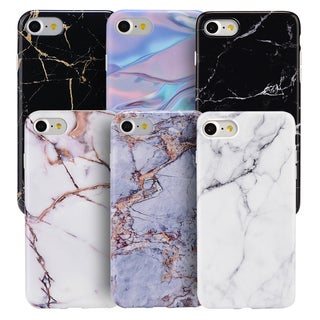 Marble White Soft TPU IMD Case for Apple iPhone 7