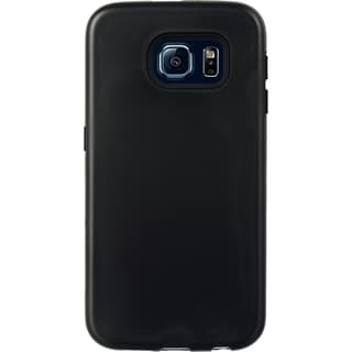 Samsung Galaxy S6 Hybrid Black Silicone/PC 3-piece Smartphone Case