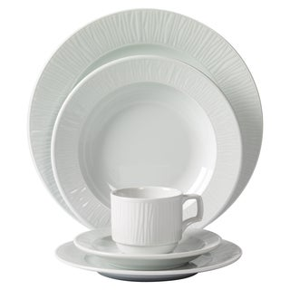 Mitterteich Emotion Embossed Porcelain 20-piece Dinnerware Set