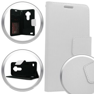 LG Stylus LS770 G Stylo Brushed Pearl XL Wallet Pouch