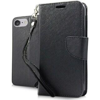 iPhone 7 Plus Black XL Wallet Pouch (Option: Beige)