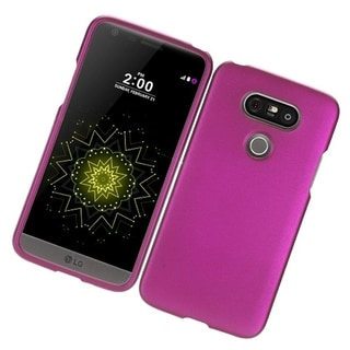 LG G5 Hot Pink 04 Rubber Protective Cover