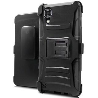 LG X Power K210 K6P Hybrid H Black Stand Holster