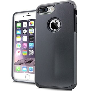 iPhone 7 Plus XL Style 2 Metallic Black Slim Case