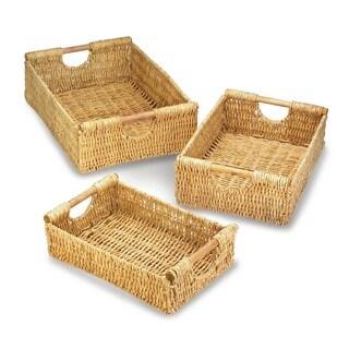 Califon Weaved Straw Storage Nesting Baskets