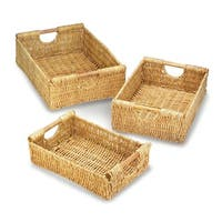Califon Weaved Straw Storage Nesting Baskets