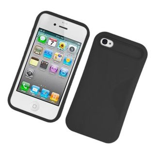 Insten Night Glow Hard PC/ Silicone Jelly Case Cover For Apple iPhone 4/ 4S