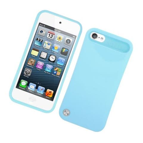 Insten Night Glow Hard PC/ Silicone Jelly Case Cover For Apple iPod Touch 5th Gen