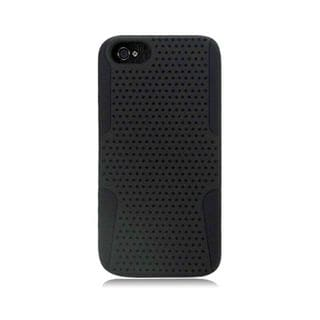 Insten Hybrid Mesh Hard Snap-on Dual Layer Case Cover For Apple iPhone 5/ 5S