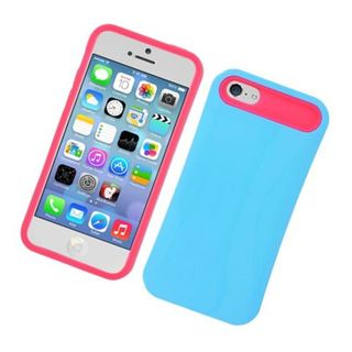 Insten Night Glow Hard PC/ Silicone Jelly Case Cover For Apple iPhone 5C
