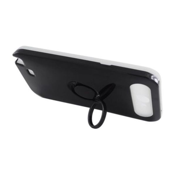 Insten Night Glow Hard PC/ Silicone Jelly Case Cover with Ring stand For Samsung Galaxy Note II