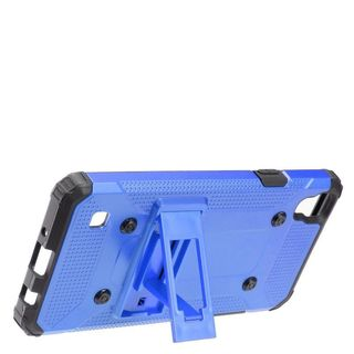 Insten Hard Snap-on Dual Layer Hybrid Case Cover with Stand For LG Tribute HD/ X STYLE