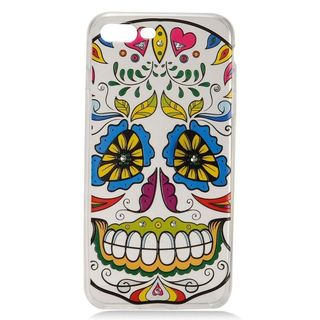 Insten White/ Colorful Joker Hard Snap-on Case Cover with Diamond For Apple iPhone 7 Plus