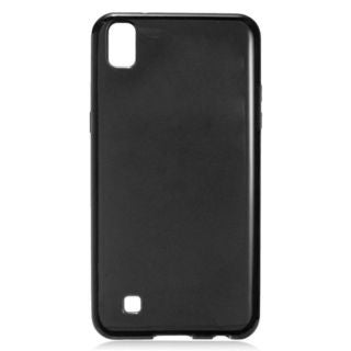 Insten Black TPU Rubber Candy Skin Case Cover For LG X Power