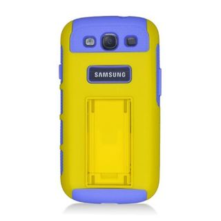 Insten Hybrid Hard Snap-on Dual Layer Case Cover For Samsung Galaxy S3