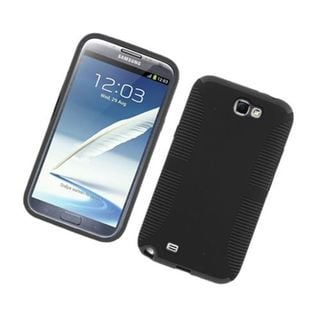 Insten Hard Snap-on Dual Layer Hybrid Case Cover For Samsung Galaxy Note II