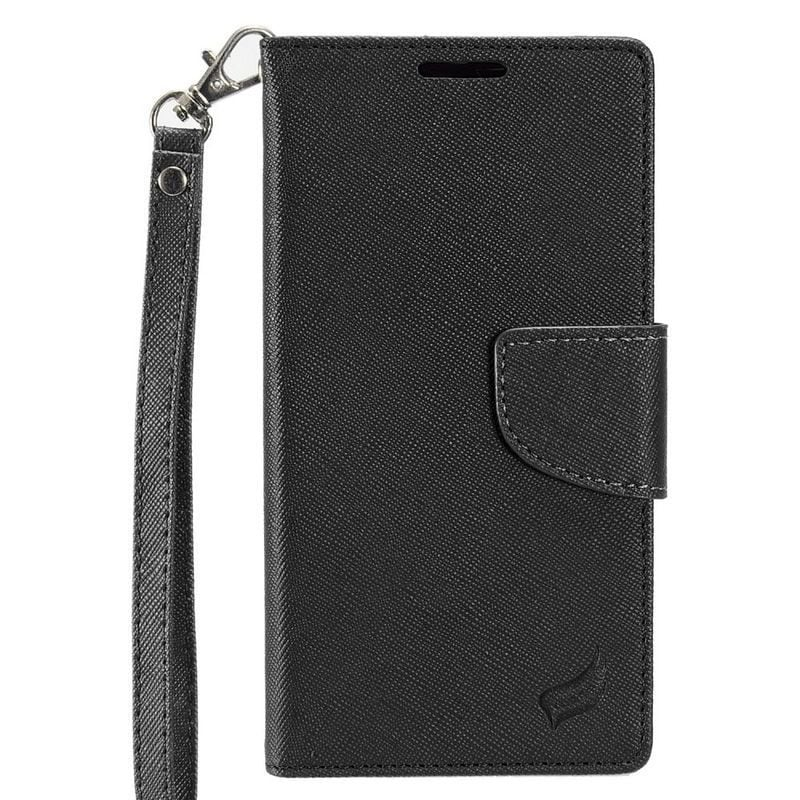 Insten Leather Case Cover Lanyard with Stand/ Wallet Flap...