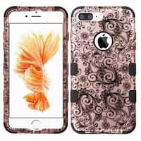 Insten Four-leaf Clover Tuff Hard PC/ Silicone Dual Layer Hybrid Case Cover For Apple iPhone 7 Plus