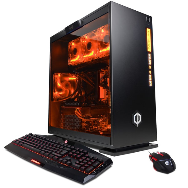 CYBERPOWERPC Gamer Supreme Liquid Cool SLC8520OS With AMD Ryzen 7-1800X 3.6GHz Gaming Computer