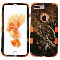 Insten Vines Tuff Hard PC/ Silicone Dual Layer Hybrid Rubberized Matte Case Cover For Apple iPhone 7 Plus