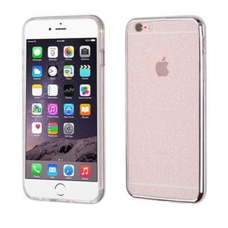 Insten TPU Rubber Candy Skin Glitter Case Cover For Apple iPhone 6 Plus/ 6s Plus