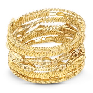 Liliana Bella Women's Handmade Goldplated Wrap Bracelet