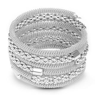 Liliana Bella Oxidized Handmade Wrap Bracelet