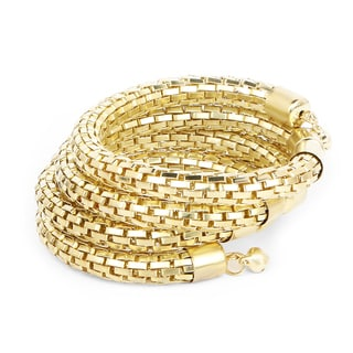 Liliana Bella Handmade Goldplated Wrap Bracelet