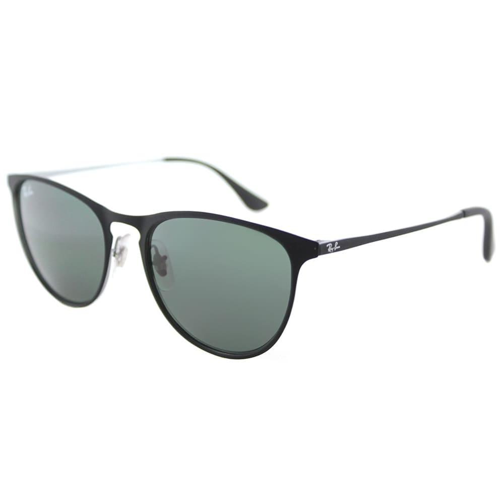 Ray-Ban RJ Square Sunglasses Green Lens Rubber Black Metal Frame ...
