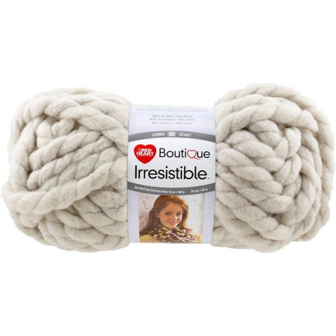 Red Heart Boutique Irresistible Yarn-Oatmeal
