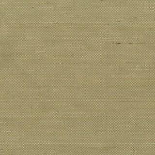 Coffee Jute Grasscloth Wallpaper