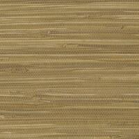 Brown Grass Grasscloth Wallpaper