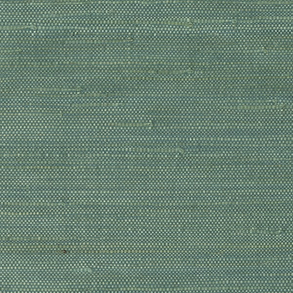 Trend Alert Grasscloth Wallpaper: Shop Teal Jute Grasscloth Wallpaper