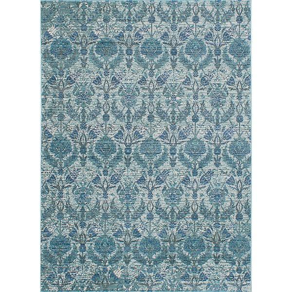 Shop Ecarpetgallery Aqua Silk Blue/Green Rug