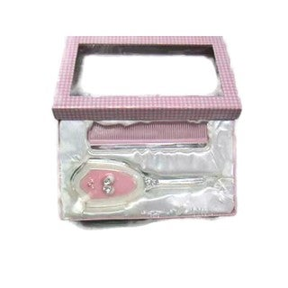 Elegance Booties Brush & Comb Set: Girl