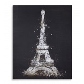 Bassett Mirror 'Eiffel Tower' Canvas Wall Art