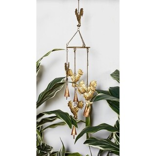 Metal Rooster Wind Chimes