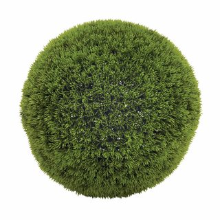 Clay Alder Home Hueguenot Green Vinyl Grass 15-inch Decorative Ball
