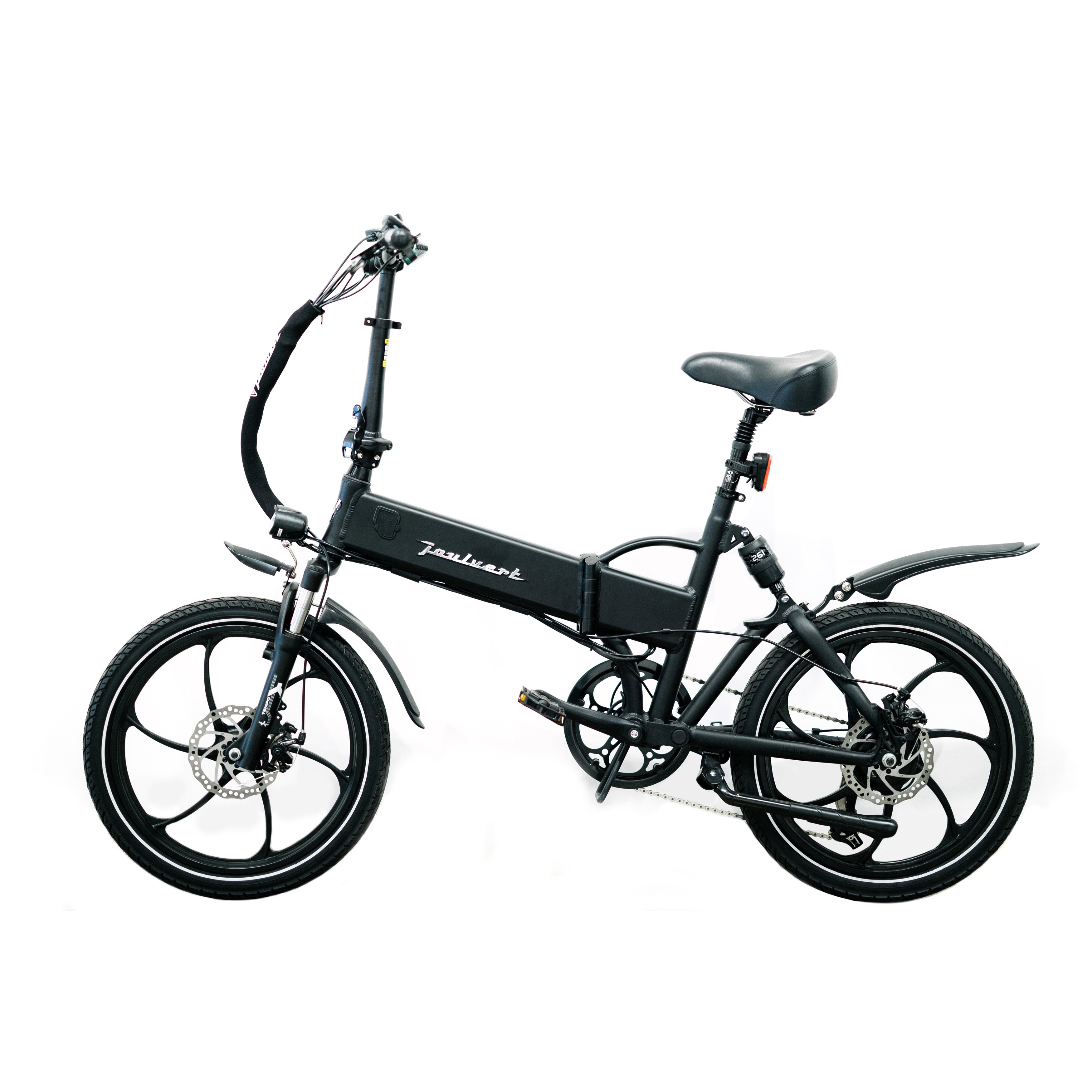 Panasonic Joulvert Stealth Folding Electric Bicycle, 20 i...