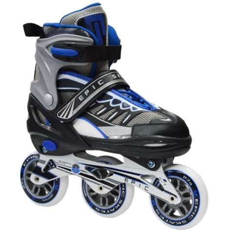 Epic Shield Inline Indoor/Outdoor Adjustable Fitness Skates