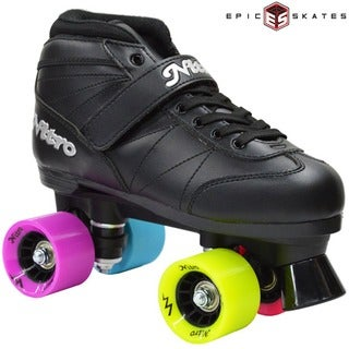 Epic Super Nitro Rainbow Quad Speed Roller Skates