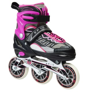 Epic Spear Inline Indoor or Outdoor Adjustable Fitness Skates