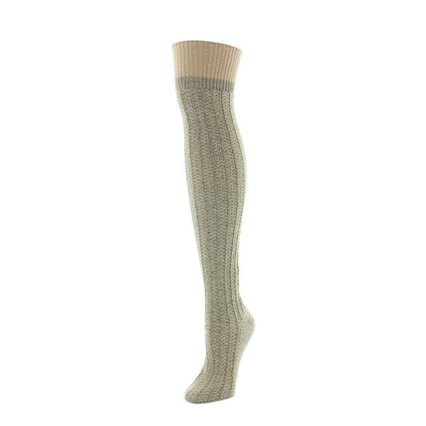 7ffc8b1556f Shop MeMoi Marled Rib Over-the-knee Socks - Free Shipping On Orders ...