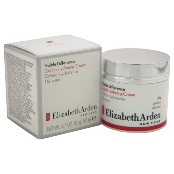 991bc7dfe51 Shop Elizabeth Arden 1.7-ounce Visible Difference Gentle Hydrating Cream -  Free Shipping On Orders Over $45 - Overstock - 14564375