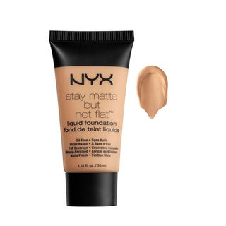 NYX Stay Matte But Not Flat Liquid Foundation Natural