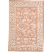 Ecarpetgallery Royale Brown Wool/ Silk Handmade Rug